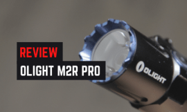 Olight M2R Warrior Pro Flashlight Review [Upgraded]