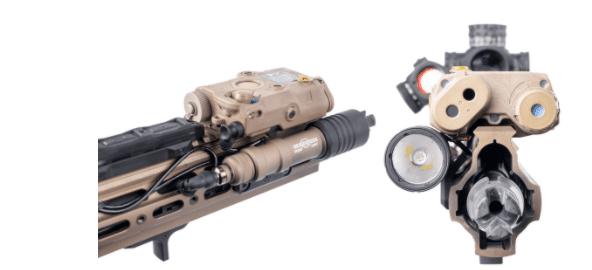 arisaka defense offset scout mount geissele SMR 416