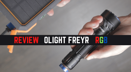 Review Guide: Olight Freyr Tactical Light [RGB Feature Added ]