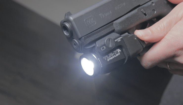 Streamlight TLR 7a flex front view