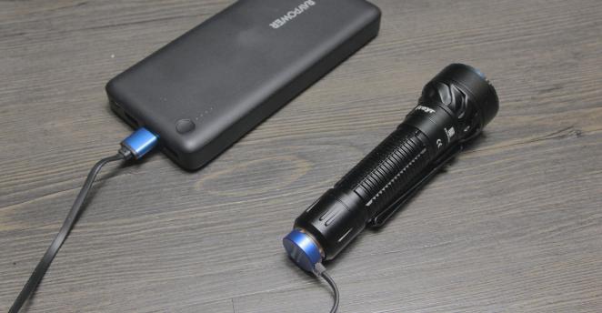 USB Charging Olight Freyr tac light
