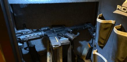 ar15 in gun safe