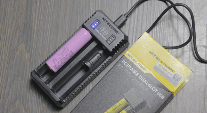 cloud defensive branded USB battery charger