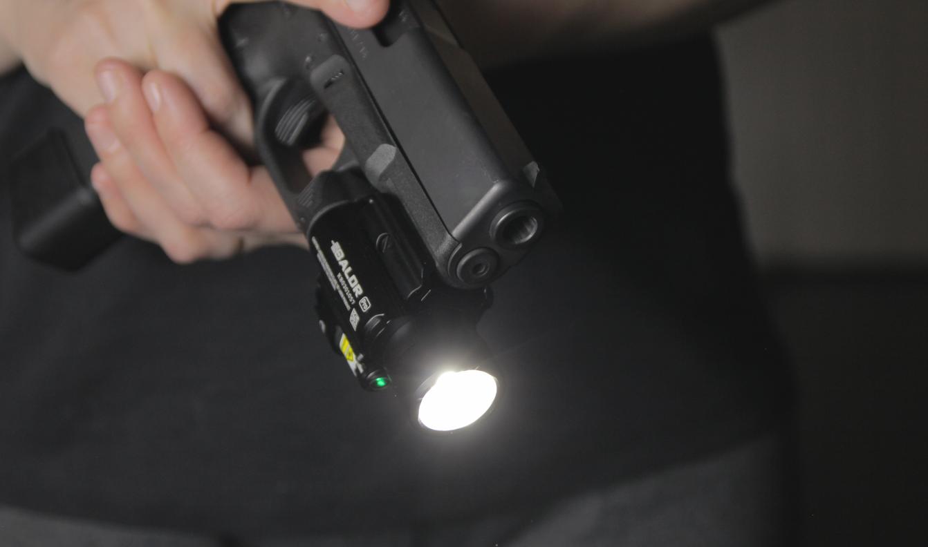 olight baldr pro on glock 19