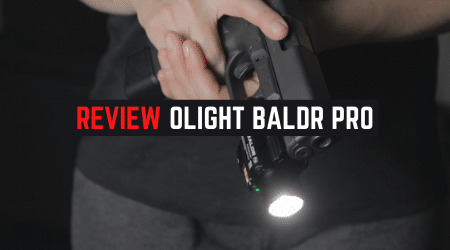 Review Olight BALDR Pro Pistol Weapon Light [With Laser]