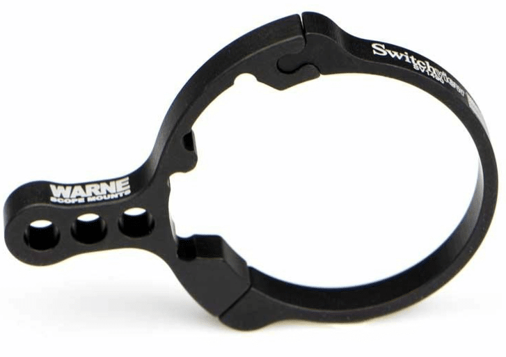scope zoom ring lever