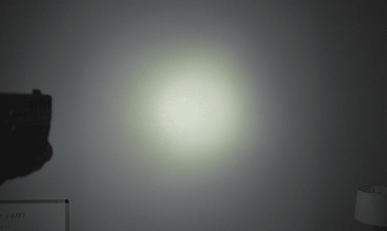 streamlight tlr 7a flex light beam hot spot