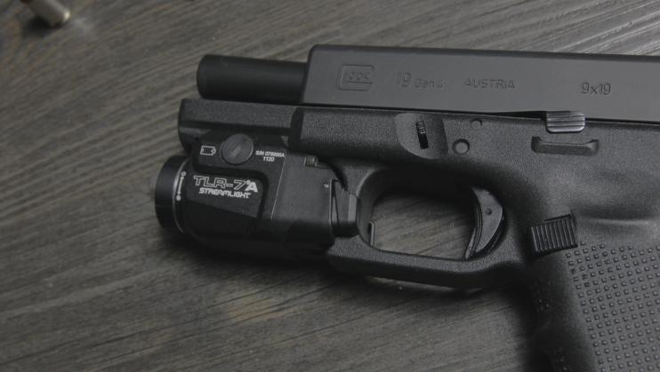 streamlight tlr 7a flex on glock 19 gen 4