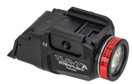 streamlight tlr 7a flex top side view