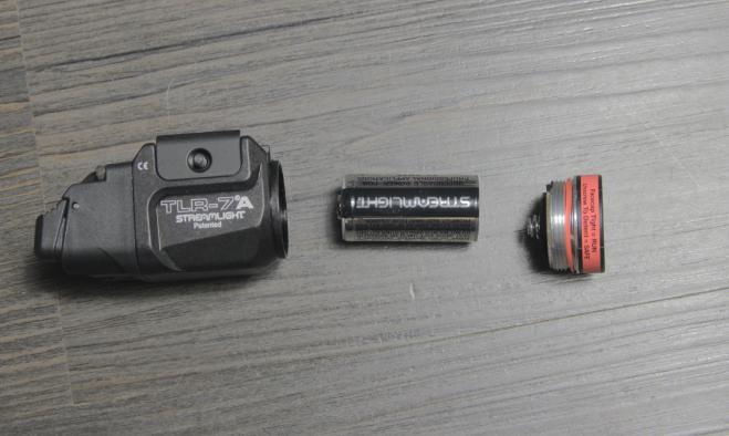 streamlight tlr7a battery installation