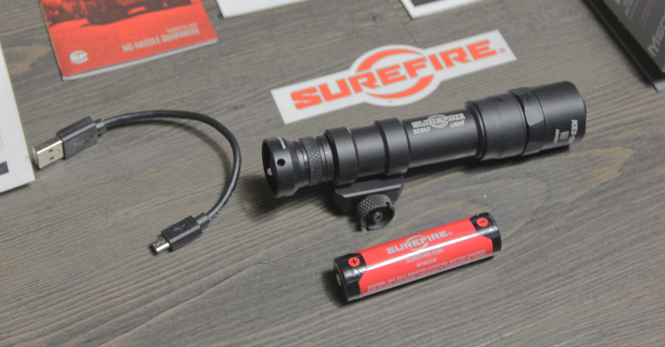 surefire 18650 rechargeable battery for SF m600df