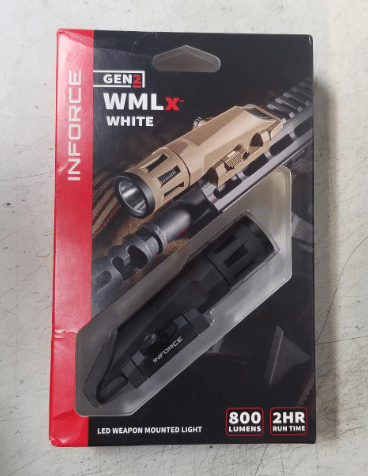 Inforce wmlx gen 2 white light packaging