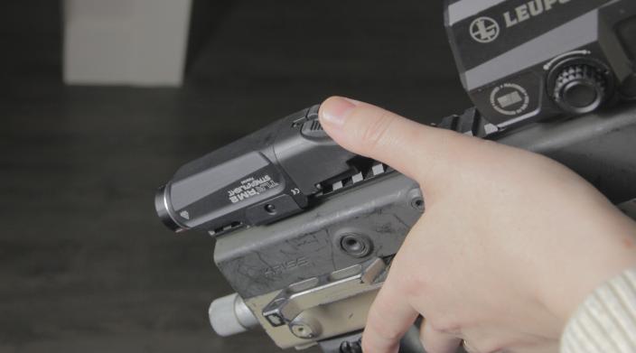 Kriss vector weapon light streamlight TLR RM1