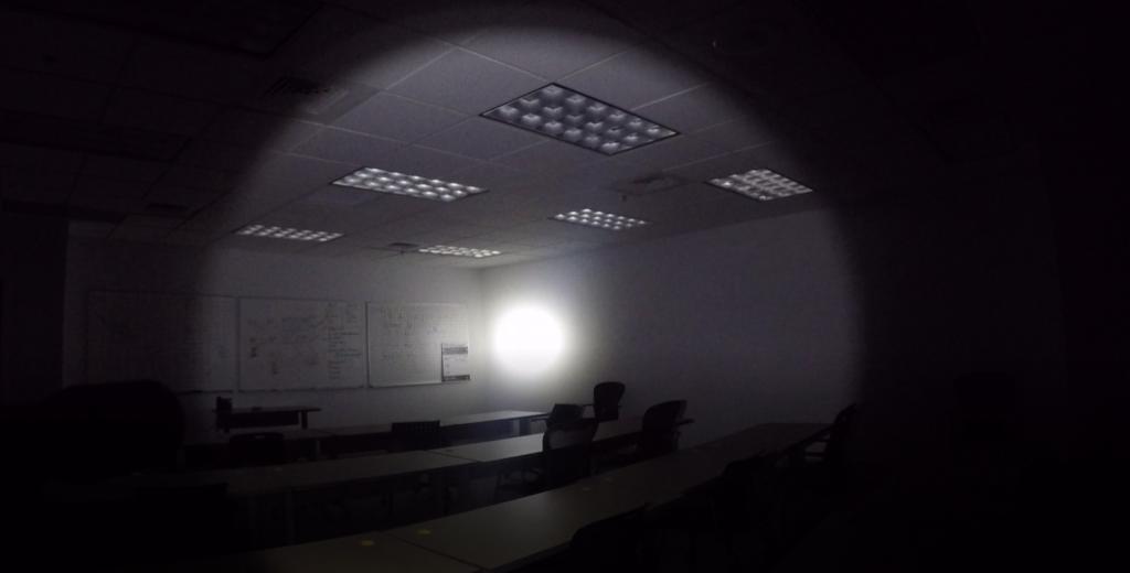 MODLITE plhv2 light beam indoor