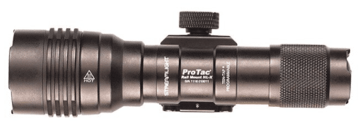 Streamlight protac hl x light top view