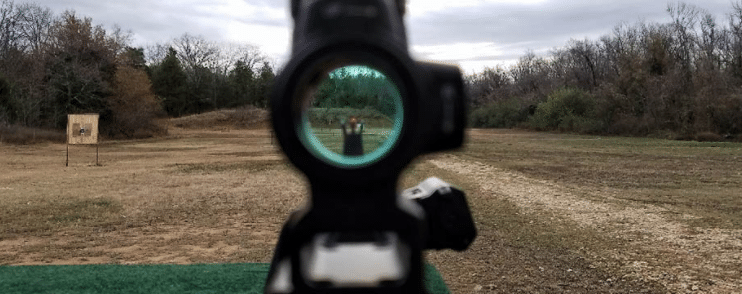 Trijicon MRO on AR15 with a2 front sight