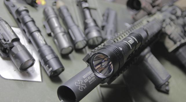 dd Mk18 weapon lights lineup