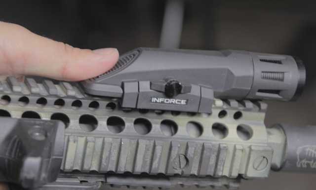inforce wmlx gen 2 on mk18 top handguard