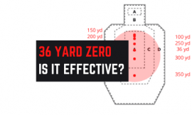 Is 36 Yard Zero The Best? ~5″ Group The Size Of A CD!