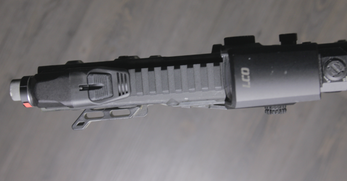 kriss vector with streamlight TLR RM1