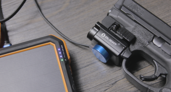 olight pl mini 2 charging via usb power bank