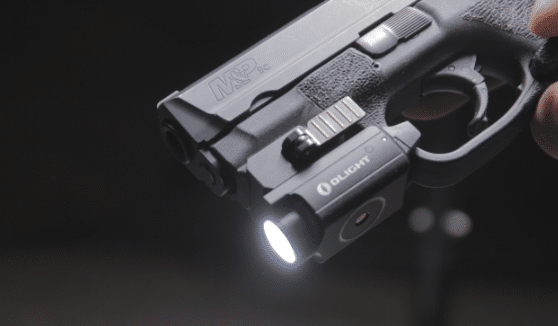 olight pl mini 2 light on m&P 9c dark