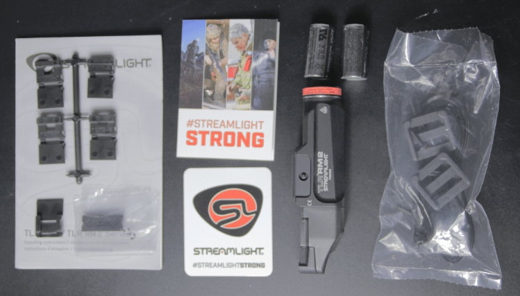 streamlight TLR RM2 unboxed