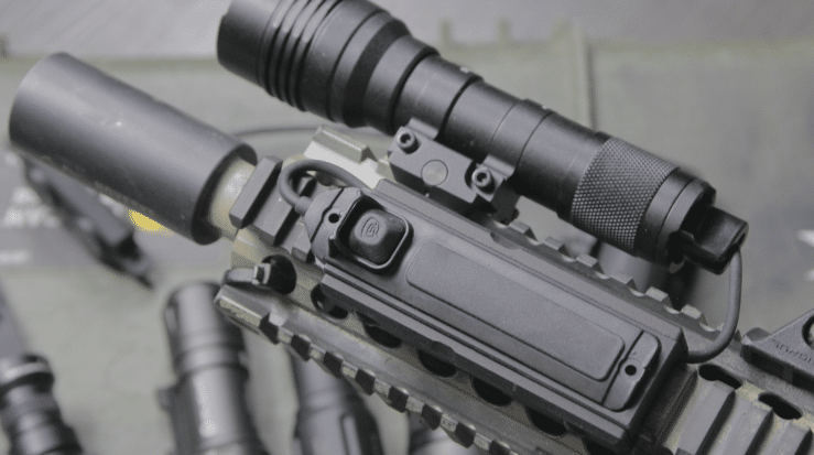 streamlight protac hl x cloud defensive LCS pressure switch mount
