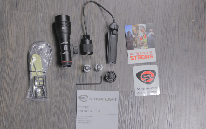 streamlight protac hl x included items