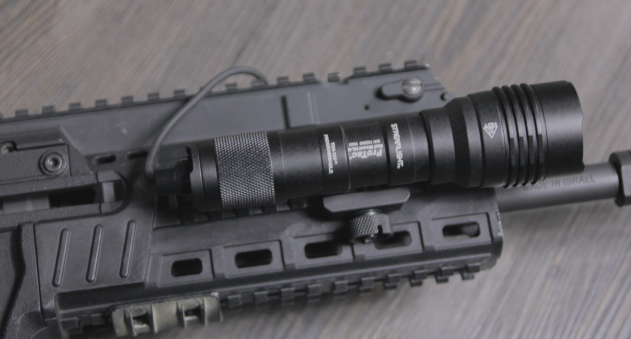 streamlight protac hl x on IWI X95