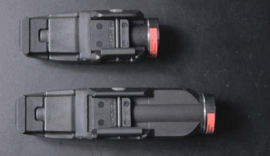 streamlight tlr rm1 and rm2 top view