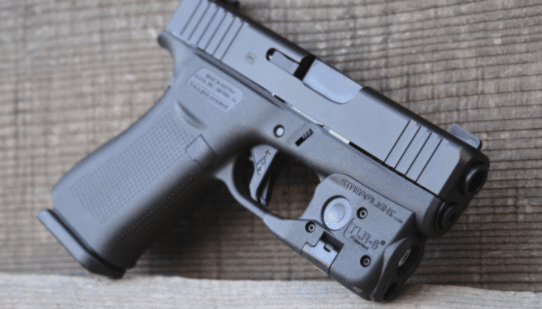 Glock 43x with streamlight TLR 6