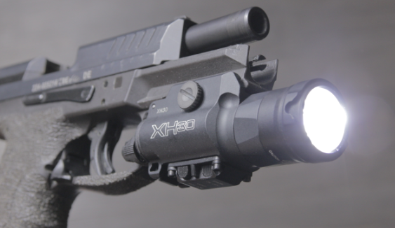 HK vp9 with surefire XH30 weapon light
