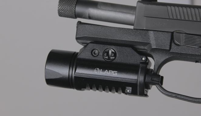 LAPG sliderail xwl on fnx 45 tactical
