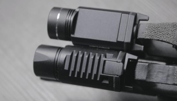 LAPG sliderail xwl vs streamlight tlr 1 hl