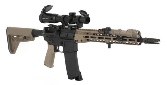 ar15 with primary arms slx 1-6x acss