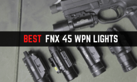 4 Best Pistol Lights For FNX 45 [Pros' Picks]