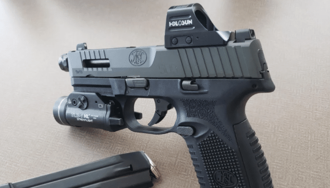 fn 509 tactical with holosun 507c