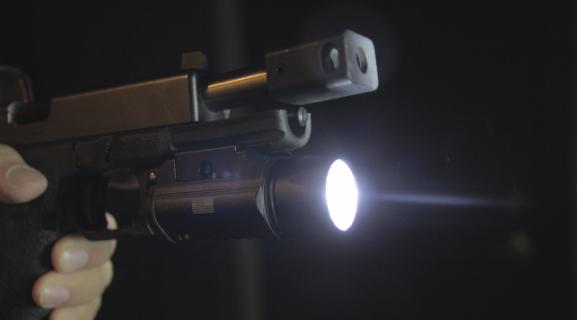 glock 17 with lapg sliderail xwl pistol light