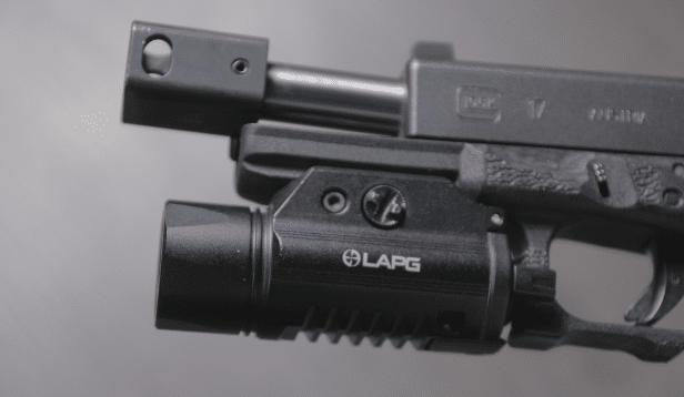 lapg sliderail xwl on glock