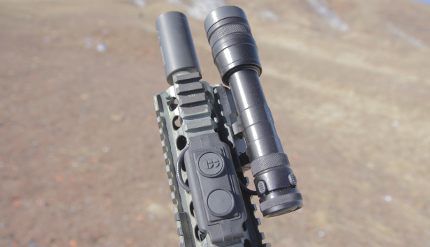mk18 with cloud defensive rein pressure switch