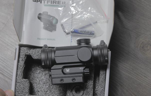 Vortex spitfire ar 1x prism unboxing