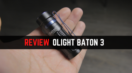Read more about the article Review Guide – Olight BATON 3 Mini EDC Light