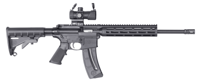 smith wesson mp15 22 with optics