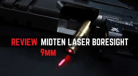 Read more about the article MidTen 9mm Laser Boresight Review [Zero Without Live Ammo?]