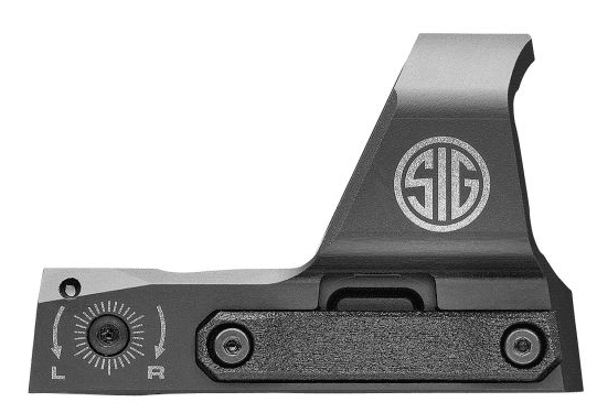 Sig sauer romeo 3 xl side view