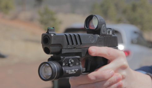 Trijicon sro on fn 509 ls edge