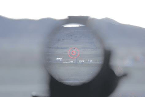 Vortex prism sight pov drt reticle