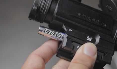 battery life vortex spitfire ar prism sight