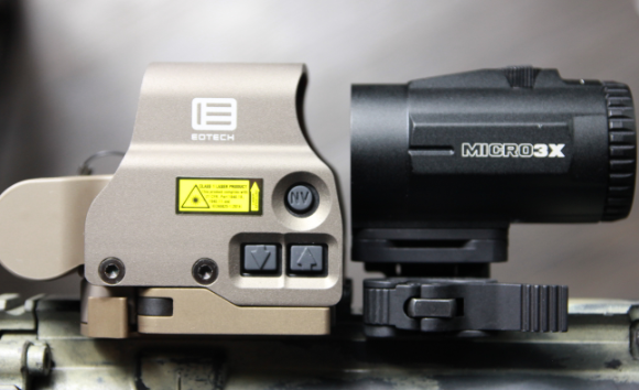 eotech and vortex micro 3x side view